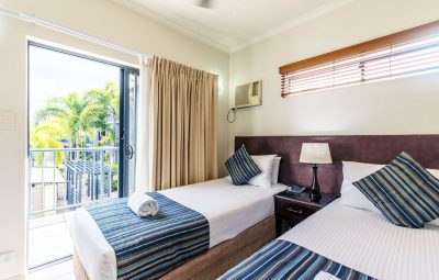 Cairns City Centre Accommodation Bed Superior Room