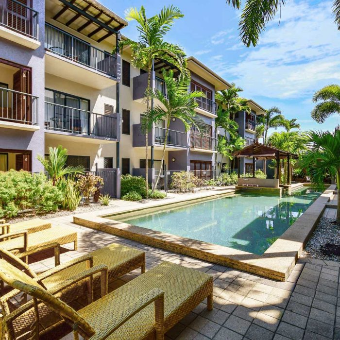 Cairns City Centre Accommodation With Lap Pool