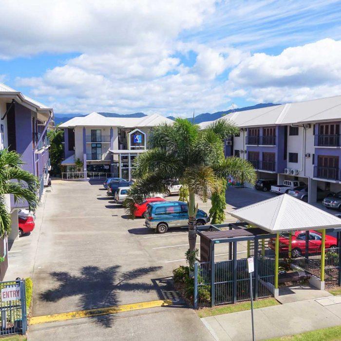 Cairns City Centre Accommodation Secure Carpark